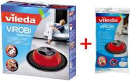 Wischroboter Vileda Virobi + 20x Nachfülltücher für nur 29,99 EUR inkl. Versand