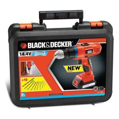 Black&Decker 14,4V LI-Akku-Schlagbohrschrauber, mit 2. Akku und Koffer + viele weitere Werkzeuge Staubsauger, usw.