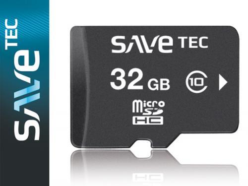 SAVETEC 32 GB Micro SDHC Class 10 für nur 18,- EUR inkl. Versand