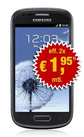 S3 mini für effektiv 93,20 Euro mit 2 Verträgen