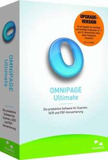 Omnipage Ultimate für 52,70 € (inklusive Paperport 14 Pro)