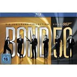 James Bond - Bond 50  Blu-ray Box für 89€ bei SatKing