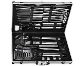 El Fuego Edelstahl-Grillbesteck 24-tlg im Aluminiumkoffer für 25,50 statt idealo 40€/49€