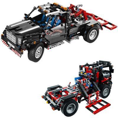 LEGO: Pickup-Abschleppwagen (9395) für 39,99€ // Blaue Rennmaschine (6747) für 16,99 € @ DC