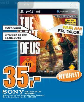 The Last of Us (PS3) für nur 35€ im Saturn Stuttgart