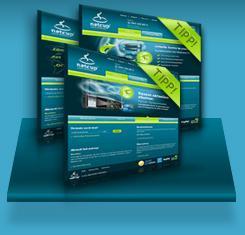 5 GB Webspace, 1 Domain, Traffic unbegrenzt, 1 Euro / Monat