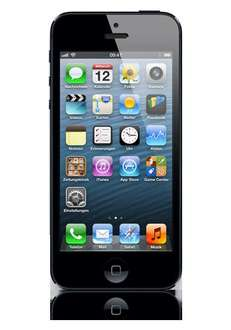 Apple iPhone 5 black, 64GB, B-Ware/refurbished