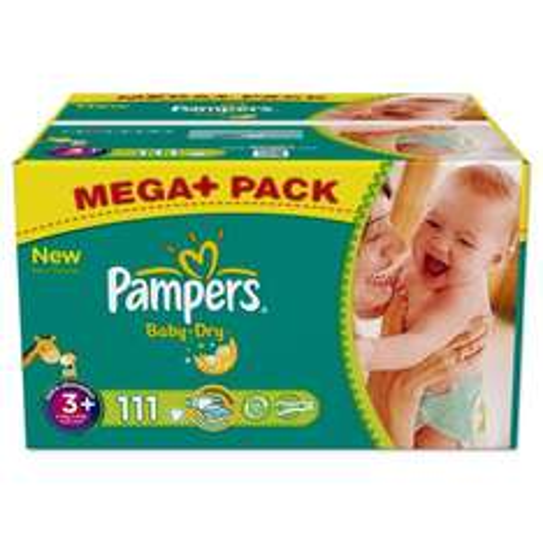 20% Rabatt auf pampers @ amazon.de z.B. BabyDry Größe 3 16cent / stück
