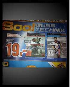 (LOKAL) Saturn in  HANAU  PS3/Xbox FIFA 13 für TOP PRICE 19 €