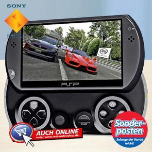 PSP go für 99 Euro bei Real ab 2.5.