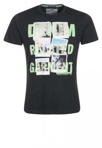 QS by s.Oliver T-Shirt print - blue inkl. Versand für 7,95 bei Zalando.de