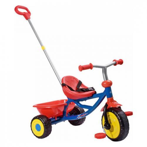"""Hudora™ - Kinder-Dreirad """"SX-0"""" (Blau-Rot) ab €18,75 [@Real.de]"""