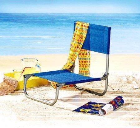 Strandstuhl - jetzt wo endlich Schwimmbadwetter ist   4,95 + 3,50 EUR Versand