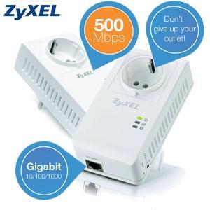 [ibood] ZyXEL 500 Mbps Powerline Adapter (PLA4215) [Set=2 Stück]