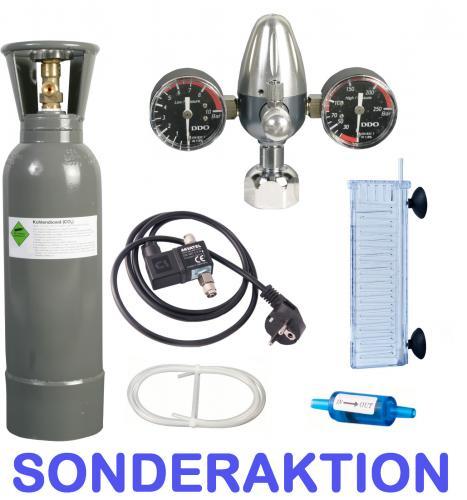CO2 Anlage mit 3KG Flasche & Nachtabschaltung für nur 149,89 EUR inkl. Versand