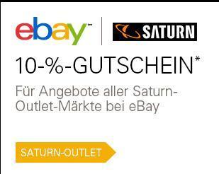10% auf alle SATURN eBay Angebote z.b. iPad Mini 16GB 273,19€ / iMac 21,5 i7 1553,99