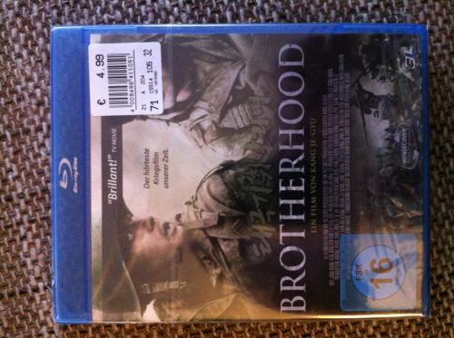 (Lokal - Kaufland) Brotherhood Blu-Ray 4,99€!