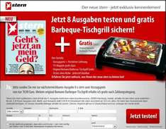 [via WEBCENT] 8x stern Magazin, 10€ amazon Gutschein & Bomann Barbeque Tischgrill für 19,90€