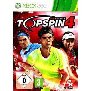 Top Spin 4  (Xbox, PS3,Nintendo Wii)  24,97 Euro @amazon.de