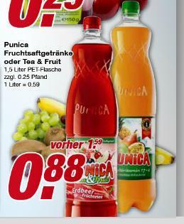 Punica 1,5l Flasche für 0,88€ bei EDEKA ab 17.06 [evtl. Lokal?]