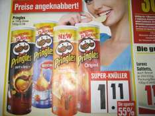 Pringles bei Edeka ab 17.6  Bundesweit !