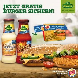 [Penny] Brandstifter oder Unschuldsengel Sauce incl. Burger King Gutschein 69 Cent und andere verschärfte Angebote!
