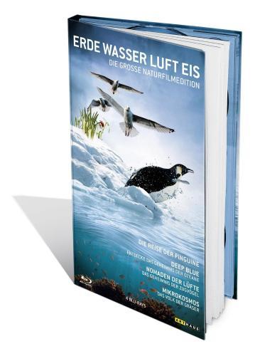 Erde, Wasser, Luft, Eis – Die grosse Naturfilmedition [Blu-ray] für 16,99 € @jpc.de