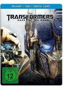 [Blu-ray] Transformers 3 - Dark of the Moon (Steelbook inkl. DVD & Digital Copy) @ Müller