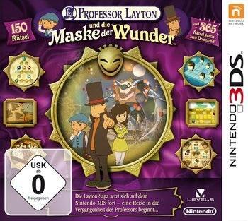 Professor Layton - Die Maske der Wunder 3DS für 29€ @MediaMarkt online