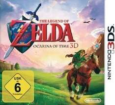 Legend of Zelda - Ocarina of Time 3DS für 29€ @MediaMarkt online
