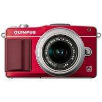 Systemkamera mit Olympus OM-D Technik für knapp 350 € ! Olympus PEN E-PM2 Kit in rot oder silber inkl. 14-42mm Objektiv für 346.95 € bei Foto Koch