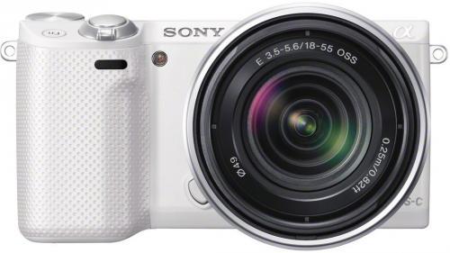 Sony NEX-5RKW Weiß