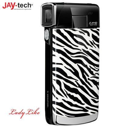 Rossmann Online: Jay-tech VideoShot Full HD10 Superslim Camcorder im Zebra- oder Leo-Design