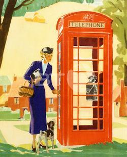 Telefonzelle (Vereinigtes Königreich) Typ K6 refurbished