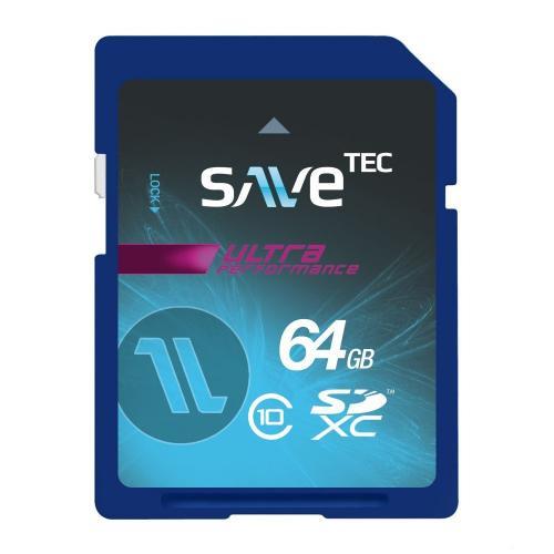 64 GB SaveTec SDXC Speicherkarte Class10 64GB
