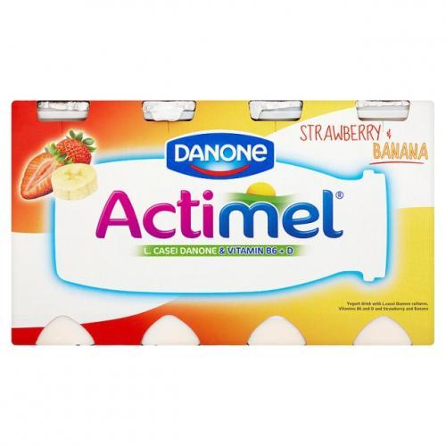 [Lokal - Bundesweit] Danone Actimel versch. Sorten, 8x 100g Packung für 1,29€ @Edeka