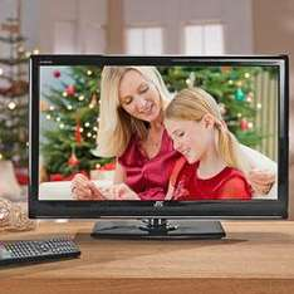 JTC LTV-823 24Zoll/61cm Full HD LED-TV EEK:B (28 Watt) DVB-T, USB integriert - für die Kids, Schlafzimmer, Toilette & als 10.-Gerät