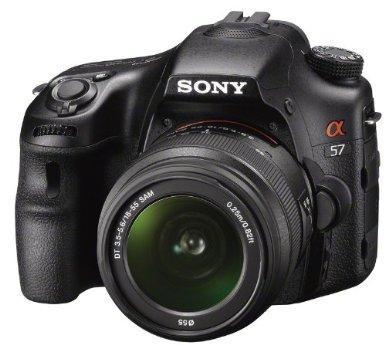 Sony SLT-A57K Kit Reflex 16 Mpix + Objectif 18-55 mm -- 429 eur