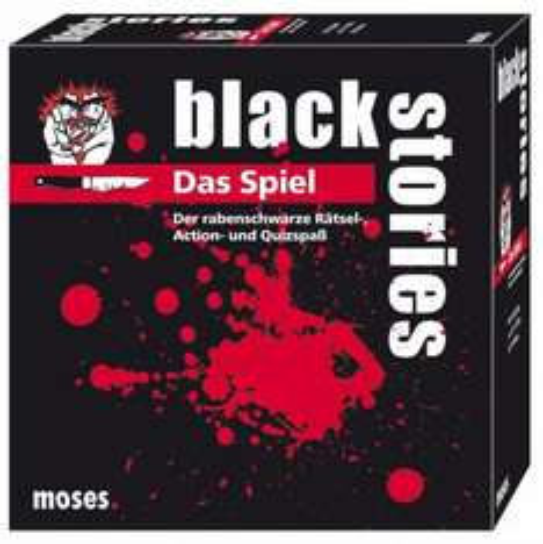 [LOKAL?!] Black Stories das Spiel bei Rossmann für 5 €