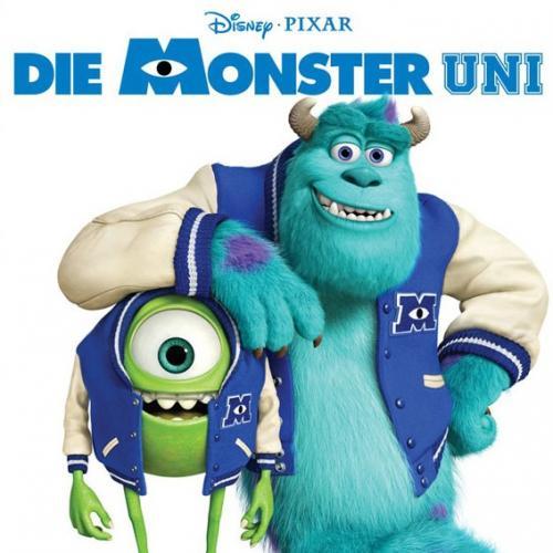 Preview-Karten für Monster Uni zu verschenken - Heute 20 Uhr