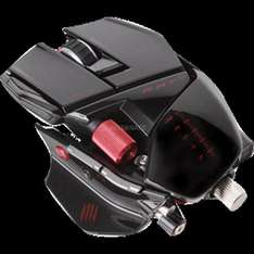 "Mad Catz Gaming Mouse ""R.A.T.9"" 6.400 dpi @ ZackZack"