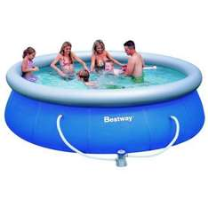 Bestway Fast Set Swimming Pool inkl. Filterpumpe 366x91cm für 66 € @ebay