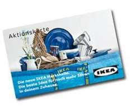 IKEA-Family* - 10€ Gutscheinkarte geschenkt bekommen - nur im IKEA Wallau (Frankfurt)