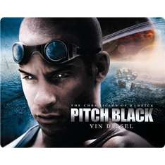 (UK) Pitch Black: Universal 100th Anniversary Edition - Exclusive Steelbook (Blu-ray) ab 6.70€ @ play (Marketplace)