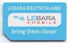 Lebara: 1-GB-Flatrate im Telekom-Netz für 9,90 Euro im ersten Monat, danach 12,90 €