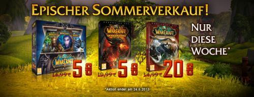 WoW Warcraft - Epischer Sommerverkauf – Battle Chest für 5 €