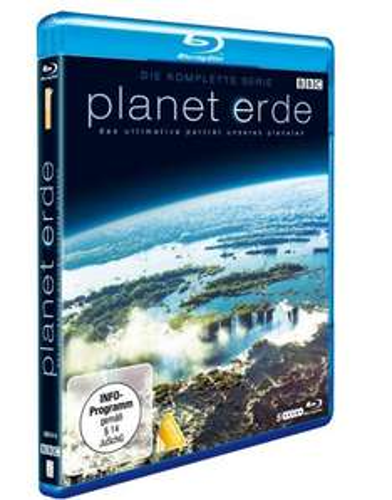 Planet Erde - Die komplette Serie [Blu-ray] für 19,99 € @Saturn.de