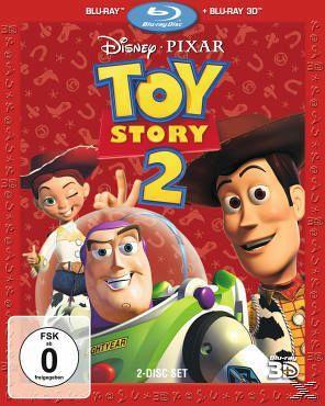 [buecher.de] Toy Story Teil 1 + 2, Blu-rays jeweils in der 3D Fassung --> pro Film weniger als 13 Euro