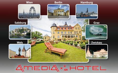 3 Tage im 4* AMEDIA Hotel nach Wahl - 7 City-Hotels zur Auswahl