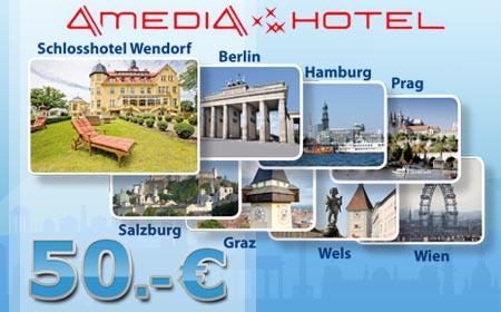Amedia Wertgutschein 50 Euro für 25 Euro